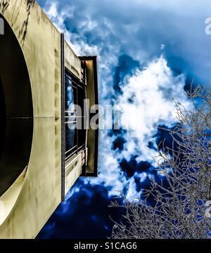 Dreamy abstrait architecture ancienne et moderne Banque D'Images