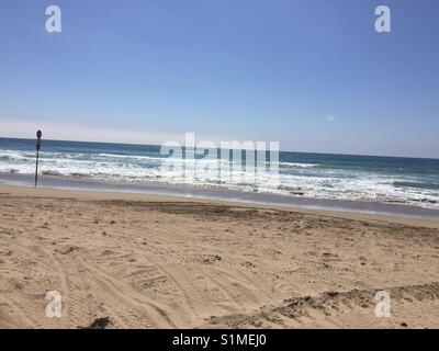 Pismo Beach Dunes CA Banque D'Images