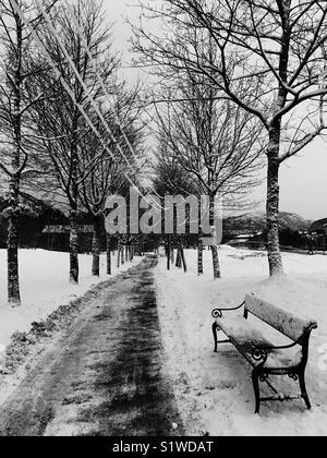 Jours de neige en Norvège