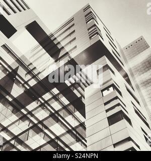 Résumé des bâtiments de la ville Banque D'Images