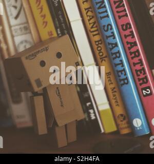 Le danbo et Japonais livres Banque D'Images