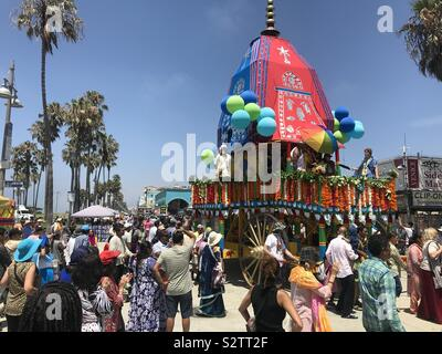 Festival des chars, Venice Beach, CA