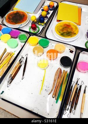 Prêt pour la créativité Banque D'Images