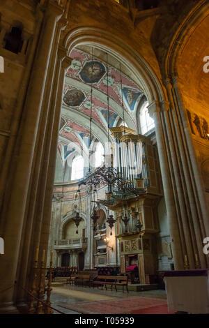 La Cathédrale de Lisbonne (sé de Lisboa; Cathédrale Patriarcale de Sainte Marie Majeure), Portugal Banque D'Images