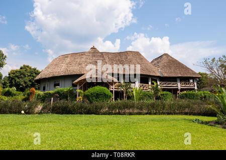 Crater Safari Lodge situé à proximité de la forêt de Kibale National Park dans le sud-ouest de l'Ouganda, l'Afrique de l'Est