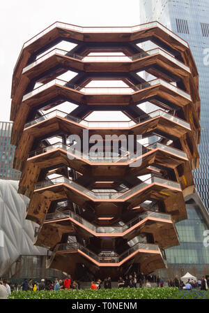 Le navire, Hudson Yards, New York City, New York Banque D'Images