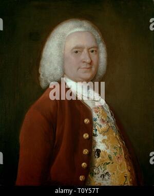 Sir Richard Lloyd, (1696-1761), c1750. Banque D'Images