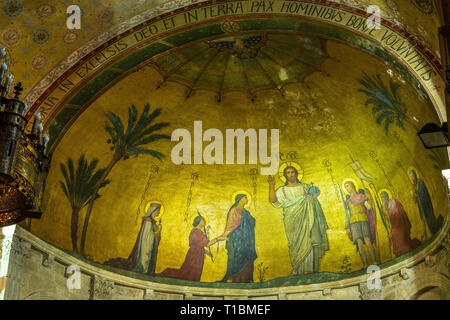 Saint Martin d'Ainay, Lyon. France Banque D'Images