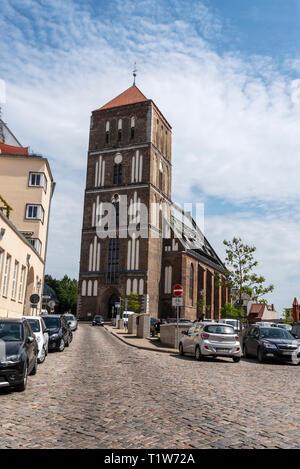 Nikolaikirche, Rostock, Mecklembourg-Poméranie-Occidentale, Allemagne Banque D'Images