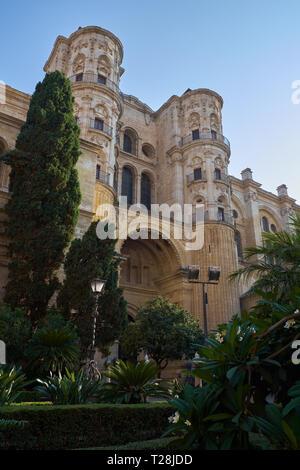 Cathédrale de Málaga. (Catedral de la Encarnación). L'Andalousie, espagne.