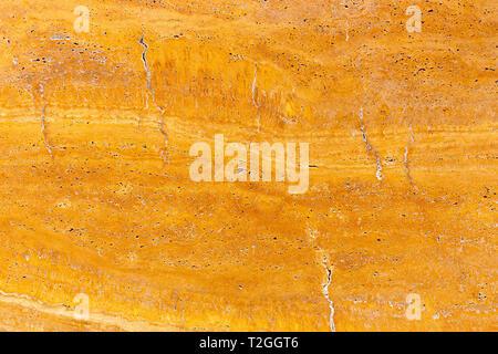 Marbre naturel réel à motifs orange stone texture background pour la conception du produit Banque D'Images