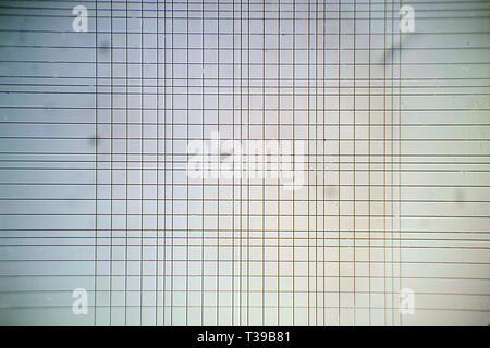 Vue microscopique de Thoma grille chambre