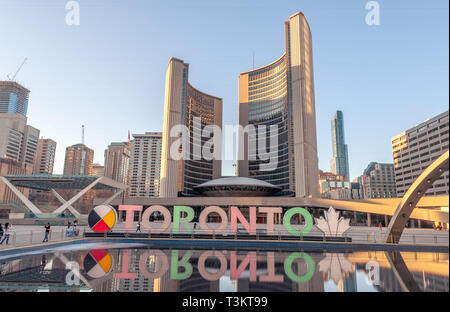 Ville de Toronto au Nathan Phillips Square