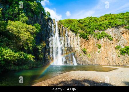 Les chutes de Niagara Cascade situé dans le nord de l'île de La Réunion Banque D'Images