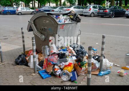 Muellton, Innenstadt, Sofia, Bulgarie Banque D'Images