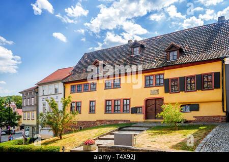 Maison de Johann Sebastian Bach à Eisenach, Allemagne Banque D'Images