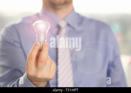 Innovation, technologie nouvelle idée d'entreprise créative Banque D'Images