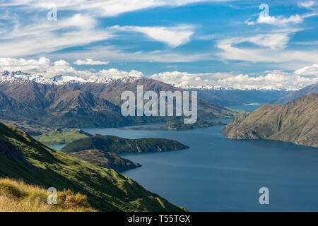 Par Montagnes Lac Wanaka en Nouvelle-Zélande