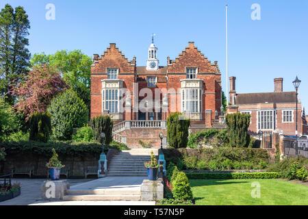 Vieux Discours Prix Gallery, Harrow School, la herse-on-the-Hill, district londonien de Harrow, Greater London, Angleterre, Royaume-Uni