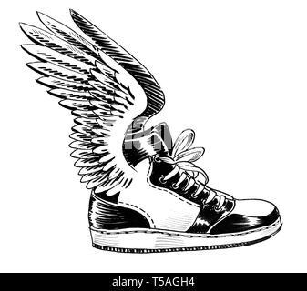 Banque Chaussures Stock Dimagesphoto Ailées Hermes W0ok8np
