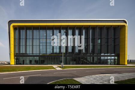 Centre de recherche sur l'intégration de l'aérospatiale des capacités de l'Université de Cranfield dans le Bedfordshire