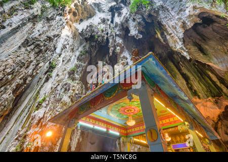 Grottes de Batu temple près de Kuala Lumpur. Banque D'Images