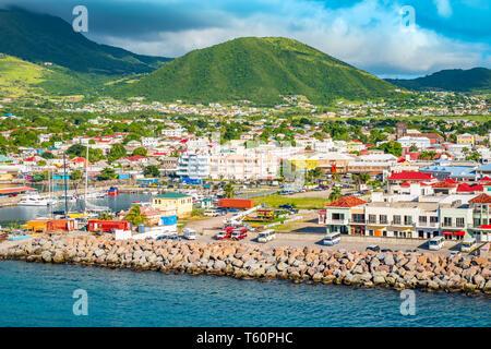 Basseterre, Saint Kitts et Nevis.
