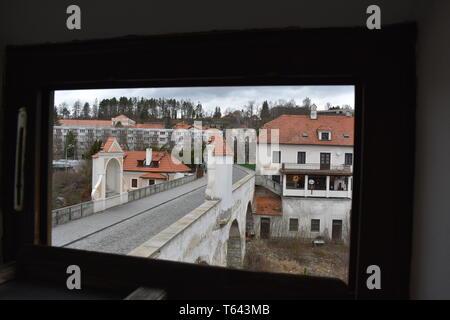 Kresty Krumlov République Tchèque 18 Mars 2017 Billet Czech Rep Best 10 Top 10 des plus beaux paysages Rep Tchèque historique histoire de l'Europe Voyage