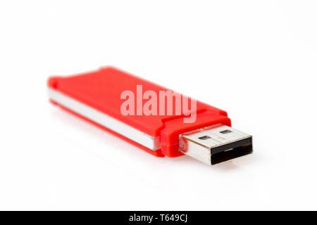 Flash mémoire portable USB Drive Banque D'Images