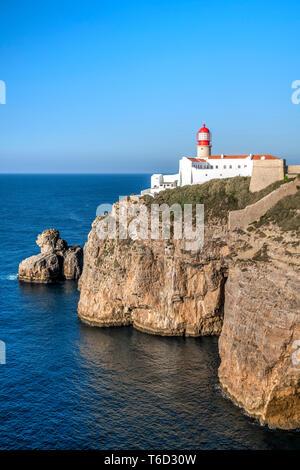 Cap St Vincent ou Cabo de Sao Vicente, Vila do Bispo, Algarve, Portugal