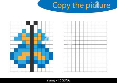 Pixel Art Décole Vecteurs Et Illustration Image