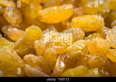 Raisins secs comme arrière-plan. Raisin Raisin la texture. Raisins secs sur le marché.