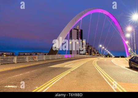 Pont Arc Clyde Glasgow