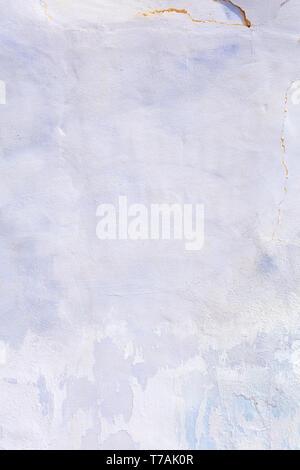 Arrière-plan avec la texture du plâtre bleuâtre sur un mur, photographie haute résolution et taille Banque D'Images
