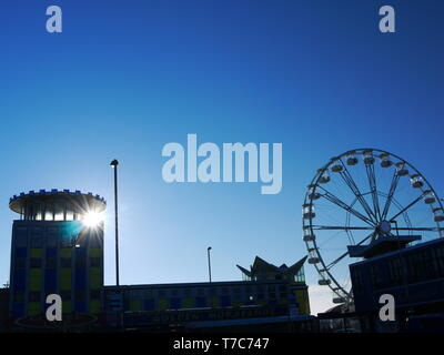 Clarence Pier, Southsea, Portsmouth, Hampshire, Royaume-Uni.