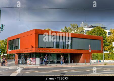Besucherzentrum, Gedenkstaette Berliner Mauer, Bernauer Strasse, Mitte, Berlin, Deutschland Banque D'Images