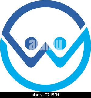 Les gens de la santé et de vecteur symbole logo Banque D'Images