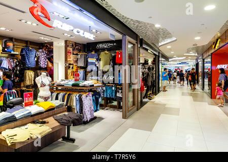 Centre commercial de Bugis Junction, à Singapour, en Asie du sud-est Banque D'Images