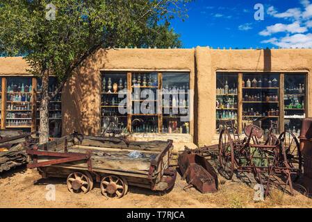Casa Grande Poste de traite et musée de la mine sur la piste Turquoise au Nouveau Mexique Banque D'Images