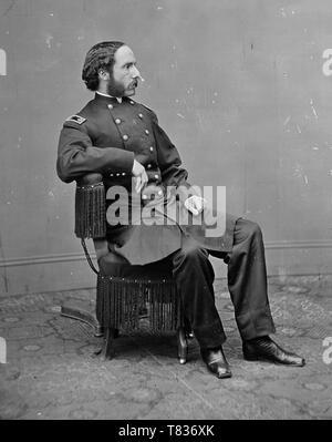 Reed Henry Rathbone (1 juillet 1837 - 14 août 1911) était un officier de l'armée des États-Unis et diplomate qui a assisté à l'assassinat du président Abraham Lincoln. Banque D'Images
