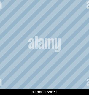 Infinite Diagonale de Dark and Light Blue Stripes lignes obliques Design business template vide modèle de mise en page graphique minimaliste isolées pour Banque D'Images
