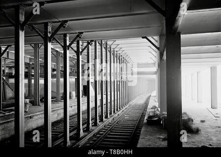 La station de métro 14th Street, New York 1904. Banque D'Images