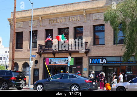 IAMLA italien, le Musée Américain de Los Angeles situé dans le centre-ville de Los Angeles, Californie Banque D'Images