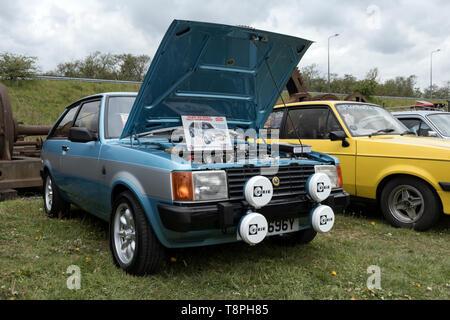 Talbot Sunbeam Lotus voiture rallye Banque D'Images