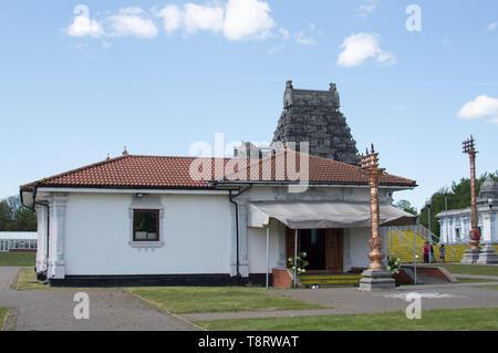 Shri Venkateswara (Balaji) Temple de UK, Tividale, Dudley, Birmingham, West Midlands, Royaume-Uni