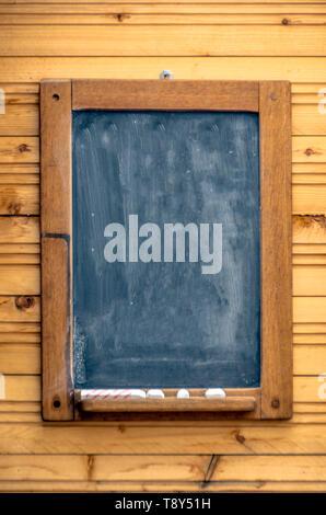 Blank Menu Chalk Board