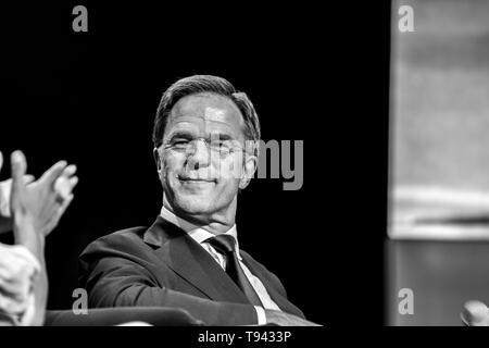 Premier ministre Mark Rutte au World Retail Congress au complexe RAI Amsterdam Pays-Bas 2019 Banque D'Images