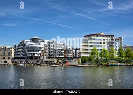 Hannover Quay à Bristol en Angleterre