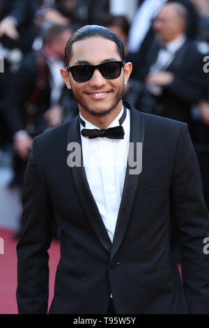 "Cannes, France. 16 mai, 2019. CANNES, FRANCE - 16 MAI : Dylan Robert assiste à la projection de ""Rocket Man"" au cours de la 72e édition du Festival de Cannes ( Crédit : Mickael Chavet/Alamy Live News Banque D'Images"