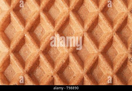 Arrière-plan gros plan texture cellulaire gaufres Banque D'Images